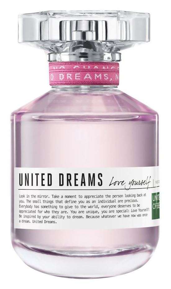 Туалетная вода United Colors of Benetton United Dreams Love Yourself (Объем 80 мл)