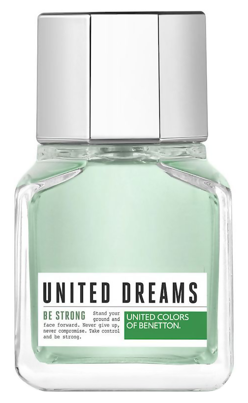 Туалетная вода United Colors of Benetton United Dreams Men Be Strong (Объем 60 мл)