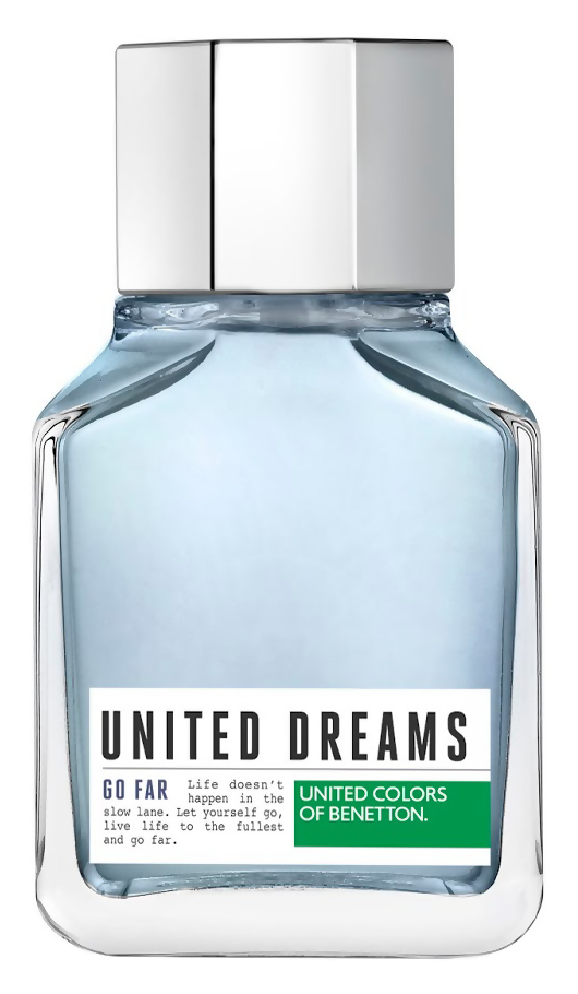 Туалетная вода United Colors of Benetton United Dreams Men Go Far (Объем 100 мл)