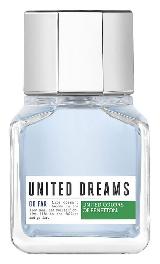 Туалетная вода United Colors of Benetton United Dreams Men Go Far (Объем 60 мл)