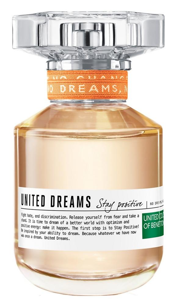 Туалетная вода United Colors of Benetton United Dreams Stay Positive (Объем 50 мл)