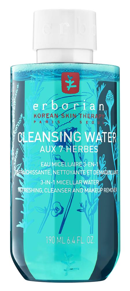 Мицеллярная вода Erborian Очищающая мицеллярная вода 7 трав (Объем 190 мл)