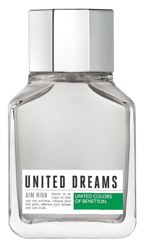 Туалетная вода United Colors of Benetton United Dreams Aim High (Объем 100 мл)