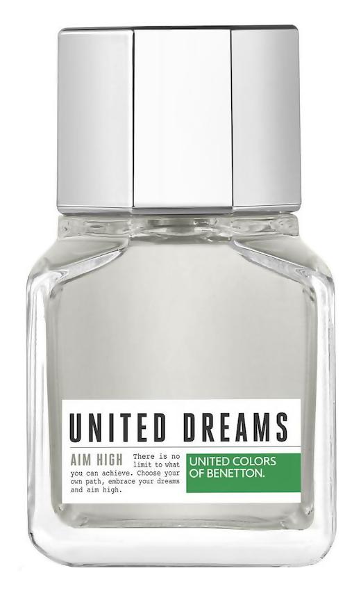 Туалетная вода United Colors of Benetton United Dreams Aim High (Объем 60 мл)