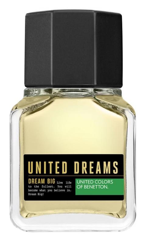 Туалетная вода United Colors of Benetton United Dreams Dream Big Men (Объем 60 мл)