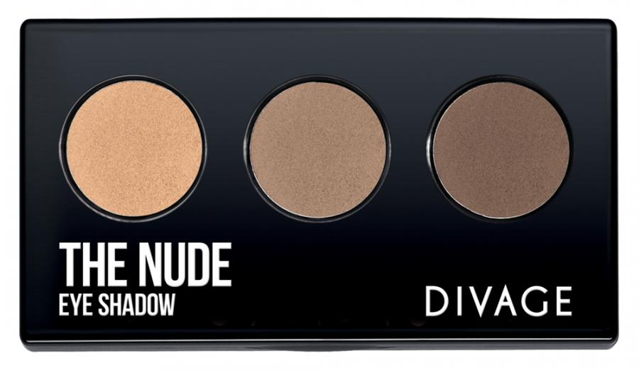 Для глаз Divage The Nude 01 (Цвет 01 variant_hex_name DEAD82)