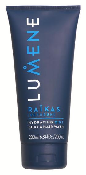 Гель для душа Lumene Raikas [Refresh] Hydrating 2in1 Body  Hair Wash (Объем 200 мл)