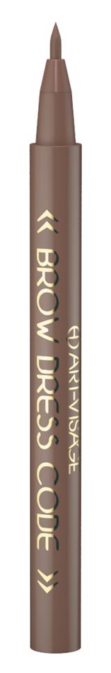 Купить Фломастер для бровей Brow Dress Code 803 Темно-коричневый ATV-057151
