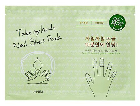 Купить Маска для ногтей Take My Hand Nail Sheet Pack Avocado
