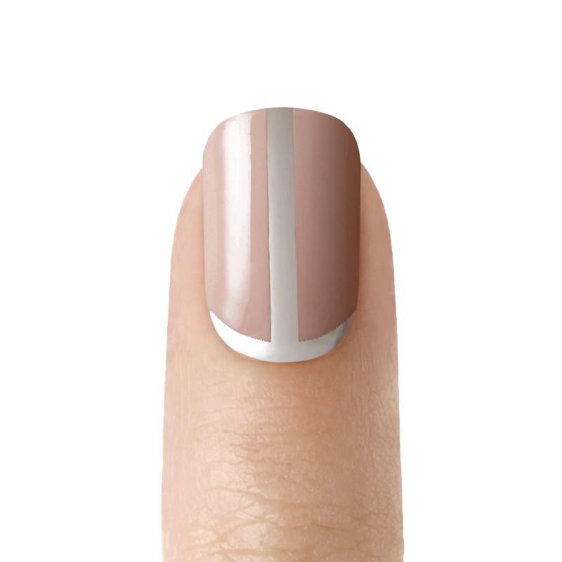 Дизайн ногтей Kiss Твердый лак imPRESS Accent Manicure Short Length BIPA120 (Цвет BIPA120 Нюдовый стиль variant_hex_name 73473c)