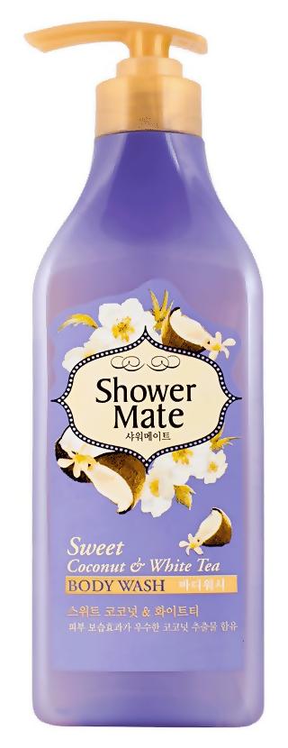 Гель для душа KeraSys Shower Mate Body Wash Sweet Coonut  White Tea (Объем 550 г)