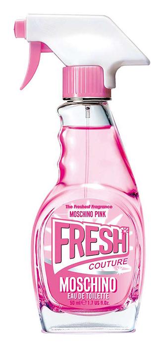 Туалетная вода Moschino Pink Fresh Couture (Объем 50 мл)