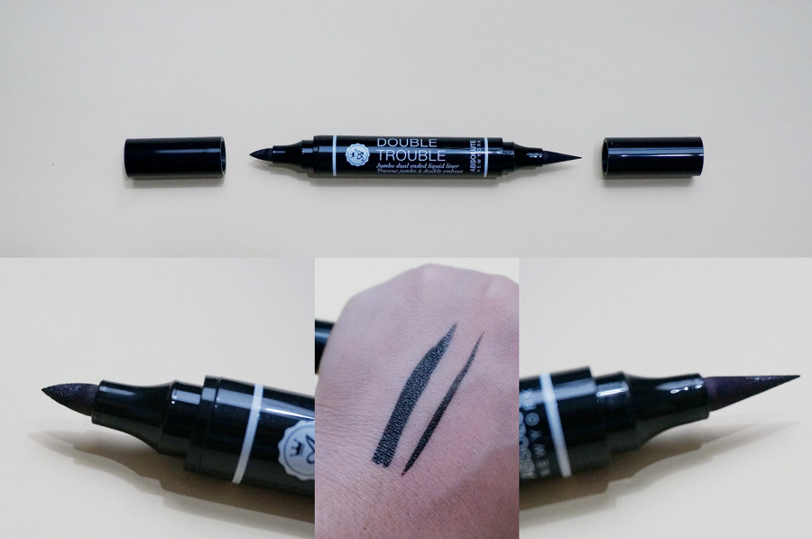 Подводка Absolute New York Eye Expert Double Trouble Liner (Цвет Black variant_hex_name 000000)