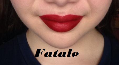 Жидкая помада Absolute New York Velvet Lippie 21 (Цвет AVL21 Fatale variant_hex_name A40B19)