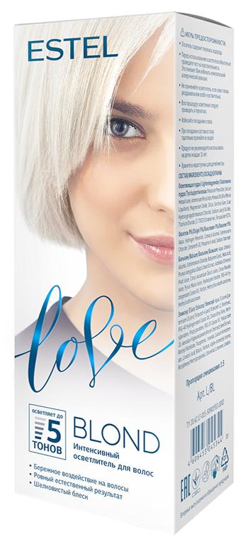 Осветление волос Estel Professional Love Blond (Цвет Love Blond variant_hex_name F2C372)