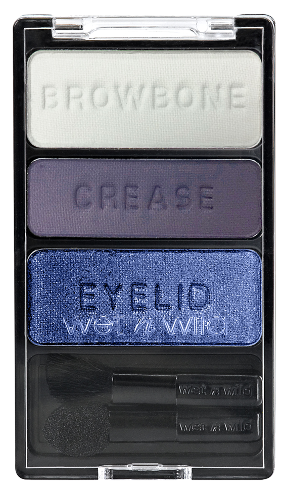 Тени для век Wet n Wild Color Icon Eyeshadow Trio E382 (Цвет E382 Can't Touch This variant_hex_name 8A8DA6)