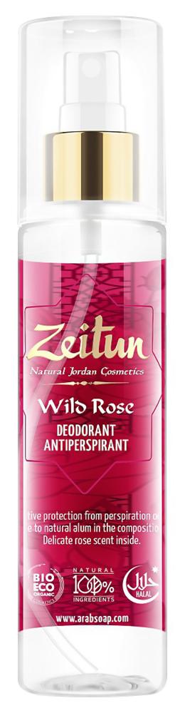Дезодорант Zeitun Wild Rose Deodorant Antiperspirant (Объем 150 мл)