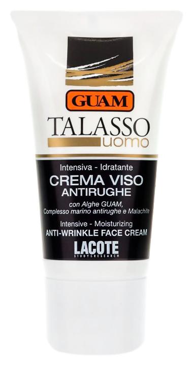 Антивозрастной уход Guam Talasso Uomo Crema Viso Antirughe (Объем 50 мл)