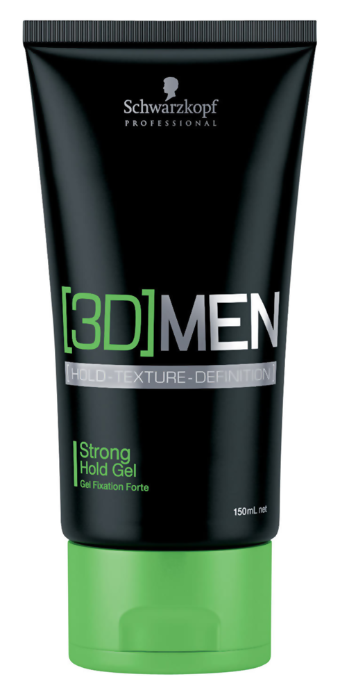 Стайлинг Schwarzkopf [3D]Men Strong Hold Gel (Объем 150 мл)