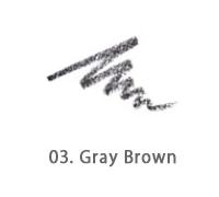 Карандаш для бровей Its Skin Babyface Powdery Wood Eyebrow 03 (Цвет 03 Gray Brwon variant_hex_name 777278)