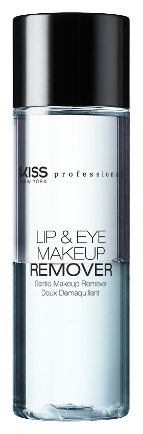 Снятие макияжа Kiss New York Professional Lip  Eye Make Up Remover (Объем 100 мл)