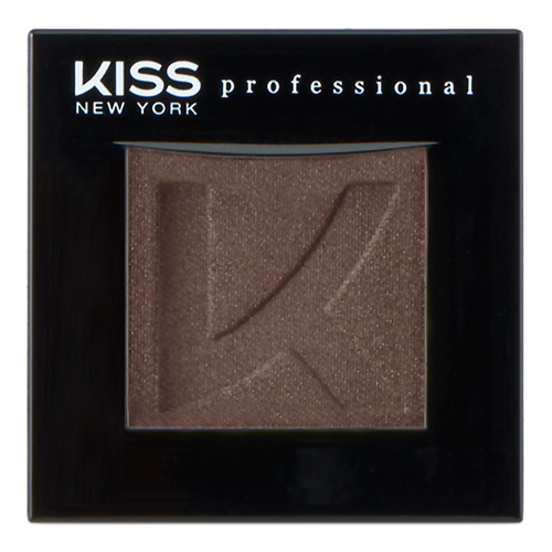 Тени для век Kiss New York Professional Single Eyeshadow 26 (Цвет 26 Dirt variant_hex_name 614B44)