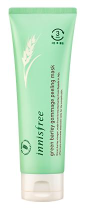 Пилинг InnisFree Green Barley Gommage Peeling Mask (Объем 120 мл)