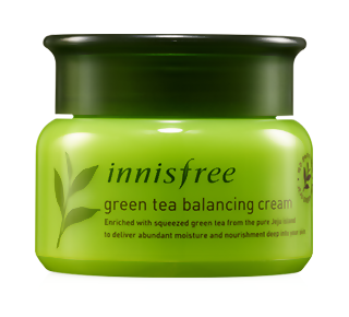 Крем InnisFree Green Tea Balancing Cream (Объем 50 мл)