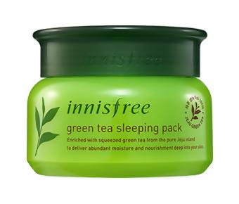 Ночная маска InnisFree Green Tea Sleeping Pack (Объем 80 мл)