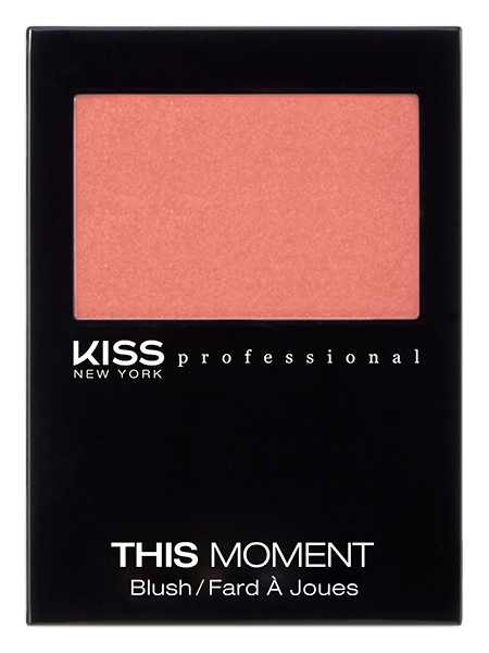 Румяна Kiss New York Professional This Moment Blush 02 (Цвет 02 Before Sunset variant_hex_name E78374)