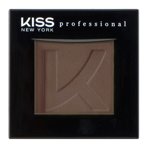 Тени для век Kiss New York Professional Single Eyeshadow 25 (Цвет 25 Bow variant_hex_name 634E40)