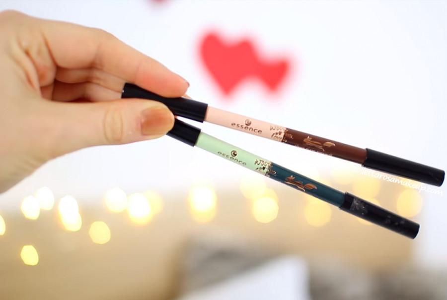 Подводка essence wood you love me? duo eye pencil 02 (Цвет 02 my tree love variant_hex_name 8b5850)