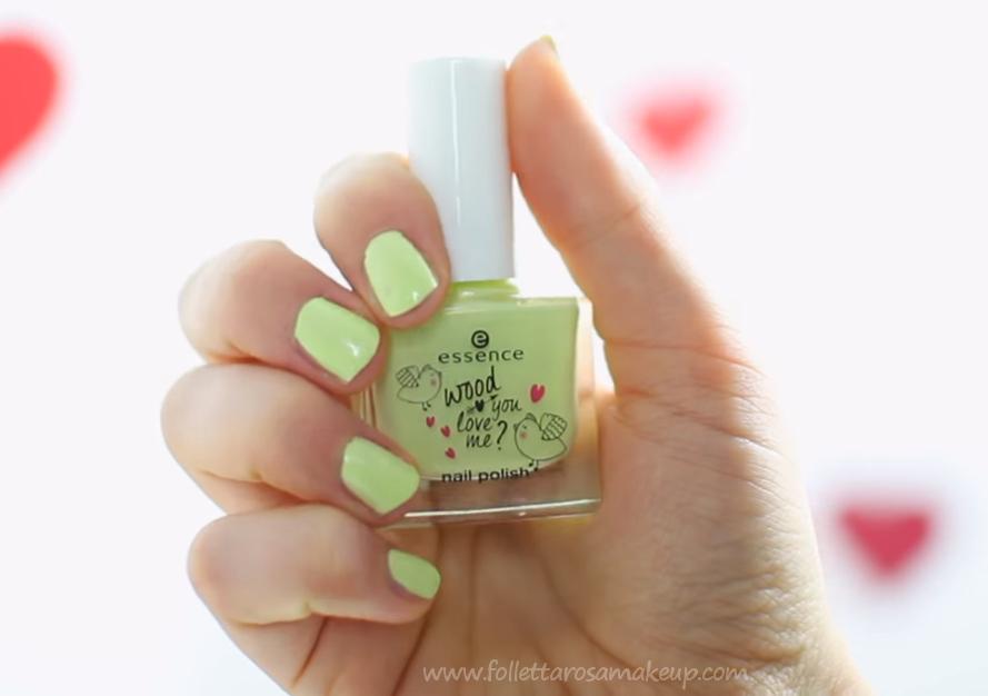 Лак для ногтей essence wood you love me? nail polish 02 (Цвет 02 soulmate variant_hex_name cbcd93)