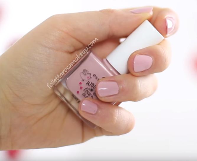 Лак для ногтей essence wood you love me? nail polish 03 (Цвет 03 sweet kisses variant_hex_name e0aebf)