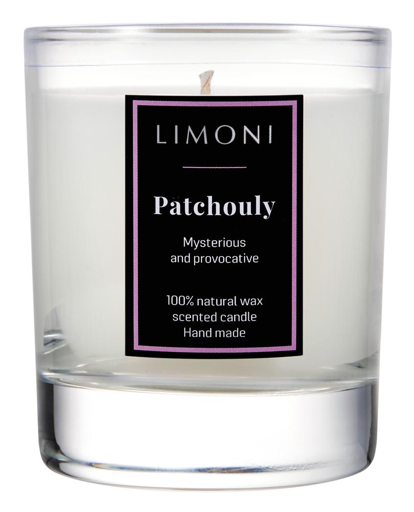 Ароматическая свеча Limoni Patchouly (Объем 160 г)