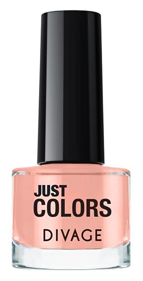 Лак для ногтей Divage Just Colors 35 (Цвет 35 variant_hex_name F8B5A4)
