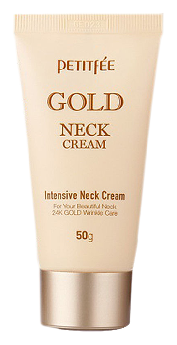 Крем Petitfee Gold Neck Cream (Объем 50 г)