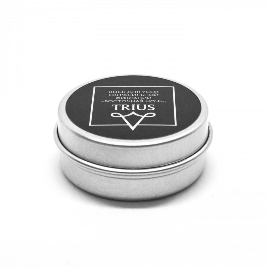 Борода и усы Trius Воск для усов сверхсильной фиксации с ароматом Восточная ночь (Объем 15 мл)