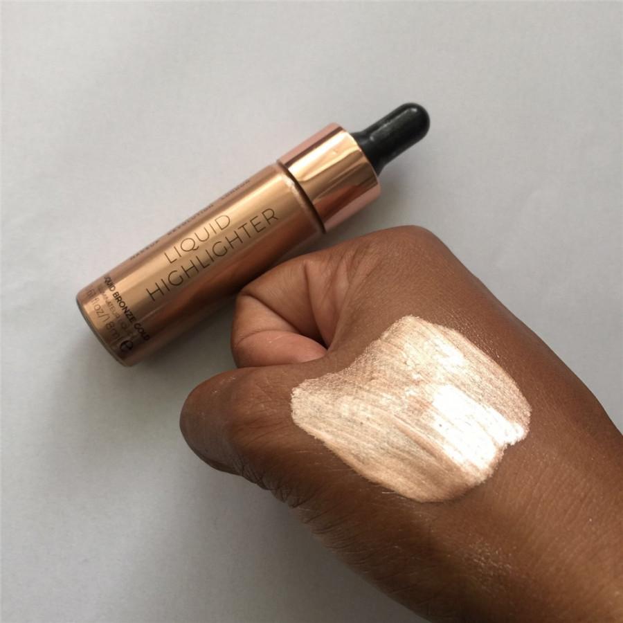 Хайлайтер Makeup Revolution Liquid Highlighter Liquid Bronze Gold (Цвет Bronze Gold variant_hex_name DAA690)