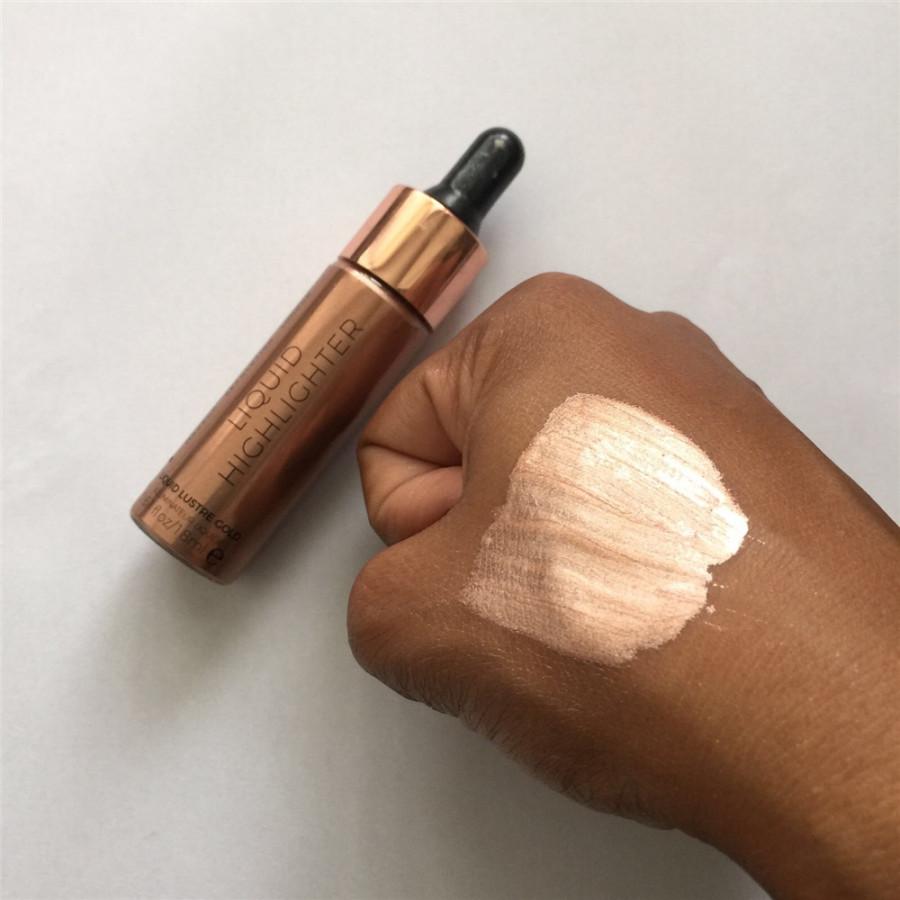 Хайлайтер Makeup Revolution Liquid Highlighter Liquid Lustre Gold (Цвет Lustre Gold variant_hex_name AF7D72)