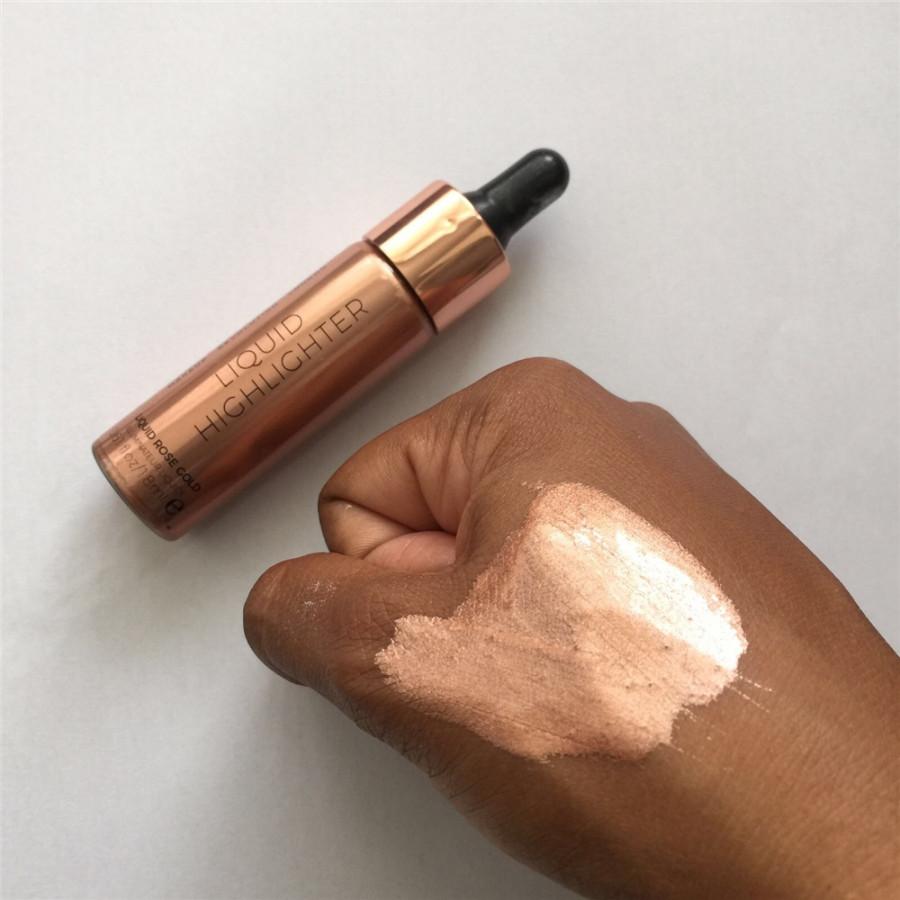 Хайлайтер Makeup Revolution Liquid Highlighter Liquid Rose Gold (Цвет Rose Gold  variant_hex_name DA988A)