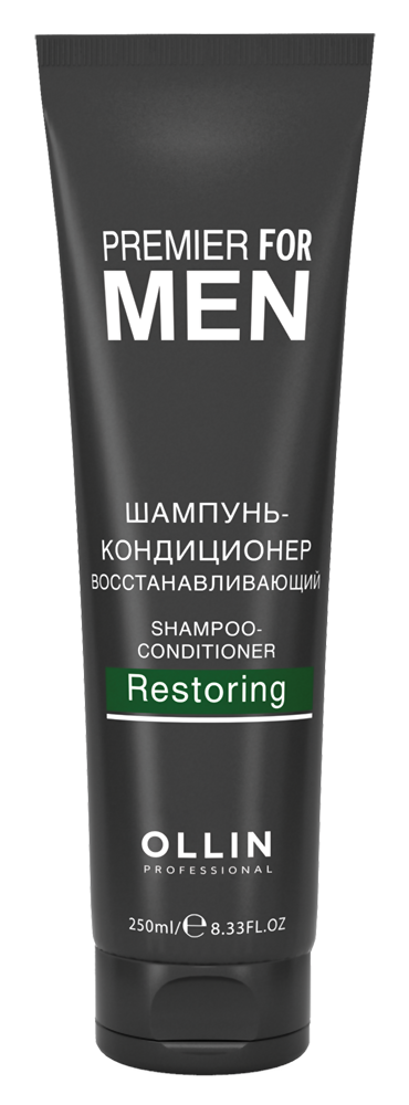 Шампунь Ollin Professional Premier For Men Shampoo-Сonditioner Restoring (Объем 250 мл)