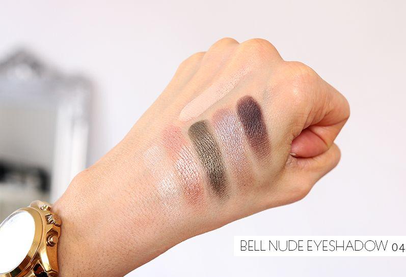 Для глаз Bell HYPOAllergenic Nude Eyeshadow 04 (Цвет 04 variant_hex_name A07F70)