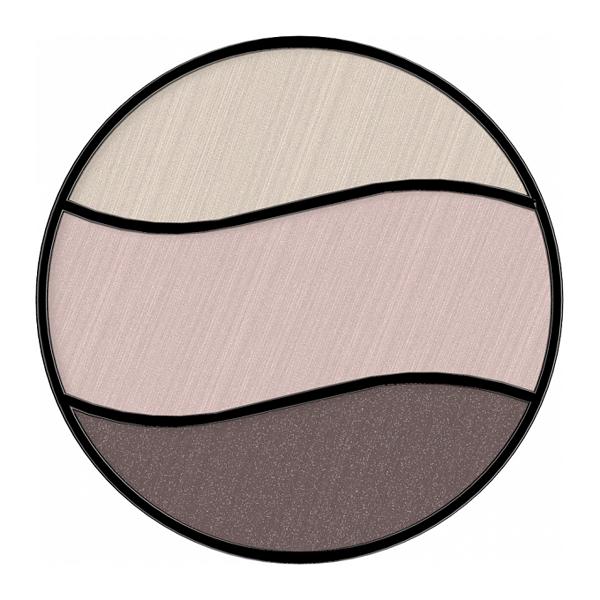 Для глаз Bell HYPOAllergenic Triple Eyeshadow 09 (Цвет 09 variant_hex_name 746262)