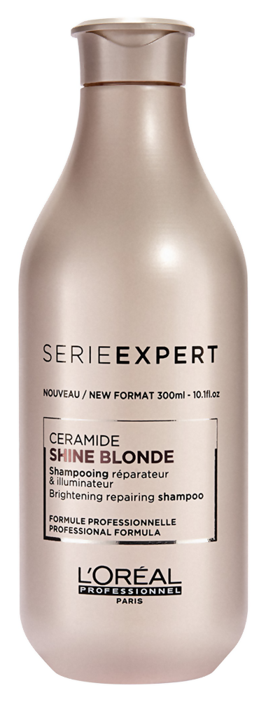 Шампунь LOreal Professionnel Shine Blonde Ceramide Shampo (Объем 300 мл)
