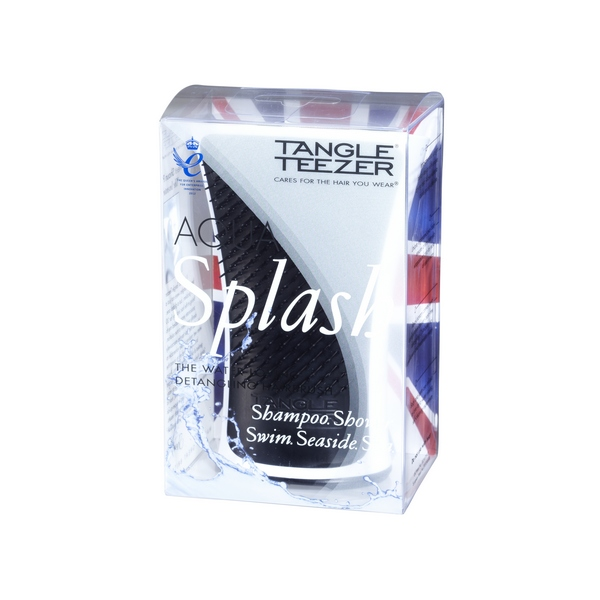 Расчески и щетки Tangle Teezer Aqua Splash Black Pearl (Цвет Black Pearl variant_hex_name 17181D)