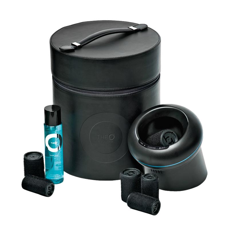 Роллеры и капсулы Cloud Nine Система для создания объема волос TheO Set With Black Case