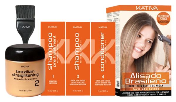 Кератиновое выпрямление волос в домашних условиях набор