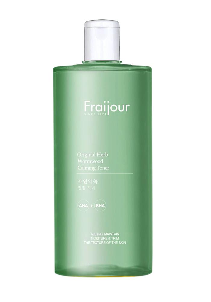 Тонер для лица Fraijour Original Herb Wormwood Calming Toner объем 500 мл: купить в интернет-магазине по цене от 1090 руб. в Москве
