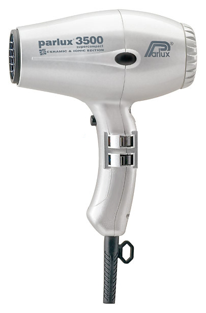 Фен Parlux Parlux 3500 Supercompact Ceramic Ionic Silver